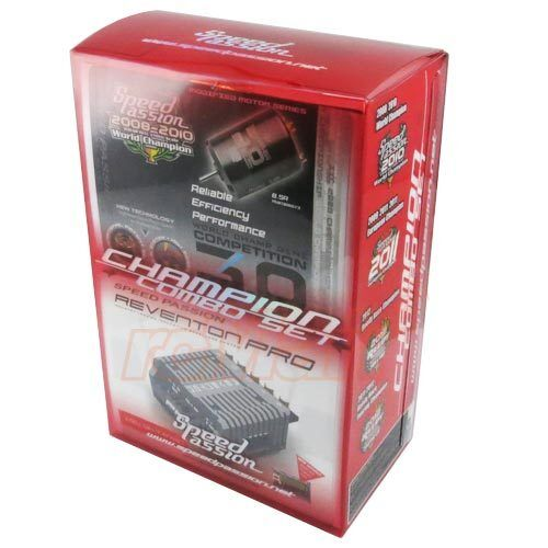 Speed Passion Reventon Pro Brushless ESC + Competition V3 8.5R Motor RC Champion in Toys & Hobbies, Radio Control & Control Line, RC Engines, Parts & Accs | eBay