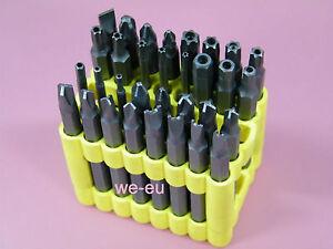 Spezial-Bit-Set-32-tlg-75mm-lang-CR-V-Bit-Satz-Sicherheitsschrauben