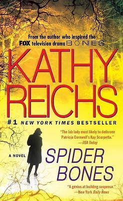 Spider Bones by Kathy Reichs (2011, Pape...