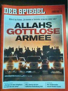 Spiegel Nr. 42 - 13.10.2014 / ALLAHS GOTTLOSE ARMEE - Deutschland - Spiegel Nr. 42 - 13.10.2014 / ALLAHS GOTTLOSE ARMEE - Deutschland