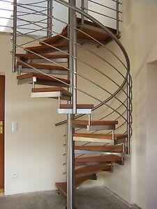 spindeltreppen raumspartreppen wendeltreppen treppen stufe holz buche edelstahl ebay. Black Bedroom Furniture Sets. Home Design Ideas