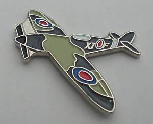 Spitfire-RAF-WW2-Aeroplane-Quality-Enamel-Pin-Badge