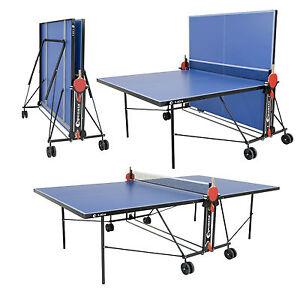 Sponeta foldable outdoor table tennis table net bats balls 2 year warranty ebay - Sponeta table tennis table ...