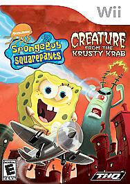 SpongeBob SquarePants: Creature from the Krusty Krab (Wii, 2006) in Video Games & Consoles, Video Games | eBay