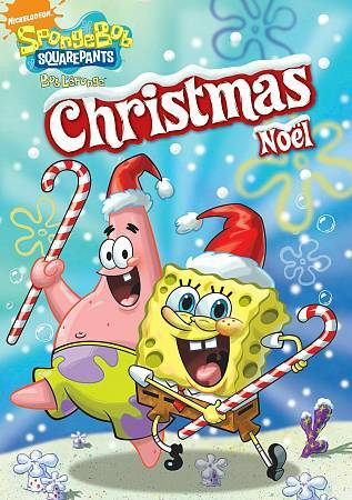 Spongebob Squarepants   Christmas DVD, 2006, Canadian