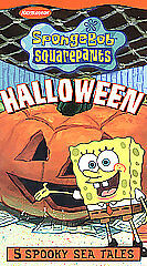 Spongebob Squarepants - Halloween (VHS, ...