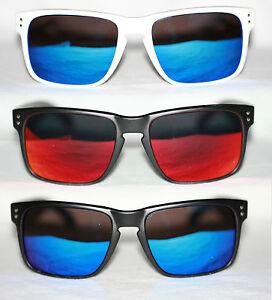 Sport-Sonnenbrille-Herren-matt-schwarz-weiss-rot-blau-gold-gruen-verspiegelt-751