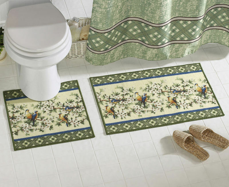 Bathroom Towel And Rug Sets Floral Bath Rug Mat Bathroom