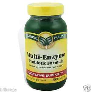 Multi enzyme supplement