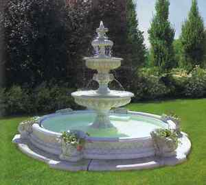 springbrunnen brunnen garten zierbrunnen etagenbrunnen ebay. Black Bedroom Furniture Sets. Home Design Ideas
