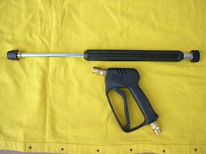 spritzgarnitur pistole lanze 500mm f r k rcher hd hds hochdruckreiniger ebay. Black Bedroom Furniture Sets. Home Design Ideas