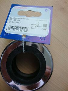 sp lkastenverbinder 38 45 mm f r euro wc wc dichtung. Black Bedroom Furniture Sets. Home Design Ideas
