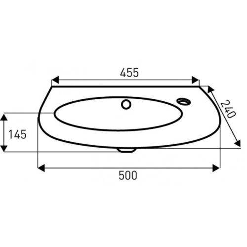 sp lstein design waschbecken modul keramik handwaschbecken. Black Bedroom Furniture Sets. Home Design Ideas