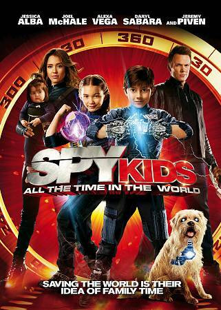 Spy Kids All the Time in the World DVD, 2011