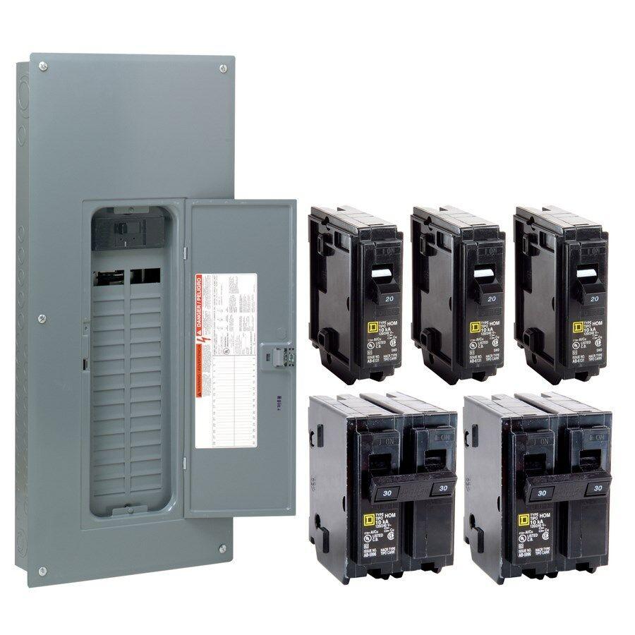Square d 200 amp panel installation paradiserutor for Best circuit breaker panel