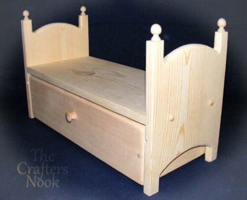 stackable trundle doll bed sleeps 2 american dolls ebay