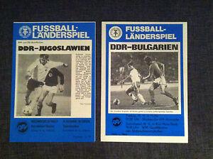 Stadionmagazin/Programm DDR-Jugoslawien / Bulgarien WM-Qualifikation 1985 - <span itemprop=availableAtOrFrom>Delitzsch, Deutschland</span> - Stadionmagazin/Programm DDR-Jugoslawien / Bulgarien WM-Qualifikation 1985 - Delitzsch, Deutschland
