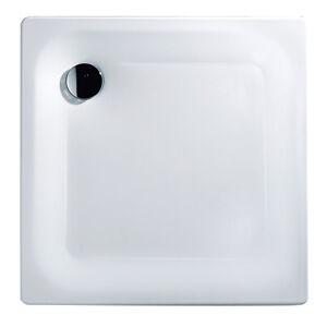 stahl brausewanne sunda wei duschwanne wanne duschtasse stahlwanne 80x80 90x90 ebay. Black Bedroom Furniture Sets. Home Design Ideas