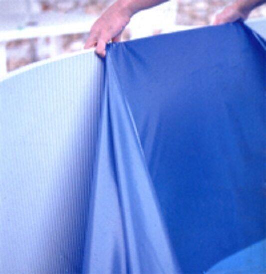 Pool schwimmbecken rund 3 50 x 1 20 m stahlwand breiter for Poolfolie blau
