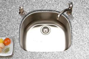 Stainless-Steel-Sink-Kitchen-Undermount-D-Shape-Single-Bowl-16G