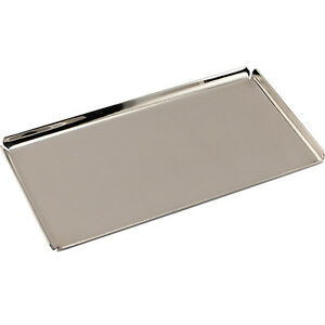 stainless steel vanity tray hotel bathroom amenities