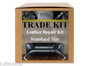 standard leather repair starter kit for trade customers car seats furniture ebay. Black Bedroom Furniture Sets. Home Design Ideas