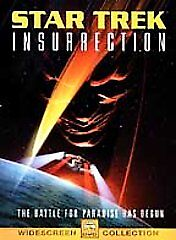 Star Trek: Insurrection (DVD, 1999, Wide...