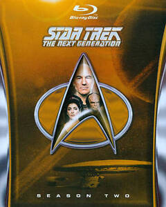 Star Trek: The Next Generation - Season 2 (Blu-ray Disc, 2012, 5-Disc Set) in DVDs & Movies, DVDs & Blu-ray Discs | eBay