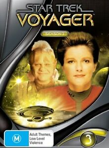 Star Trek Voyager : Season 3 (DVD, 2004,...