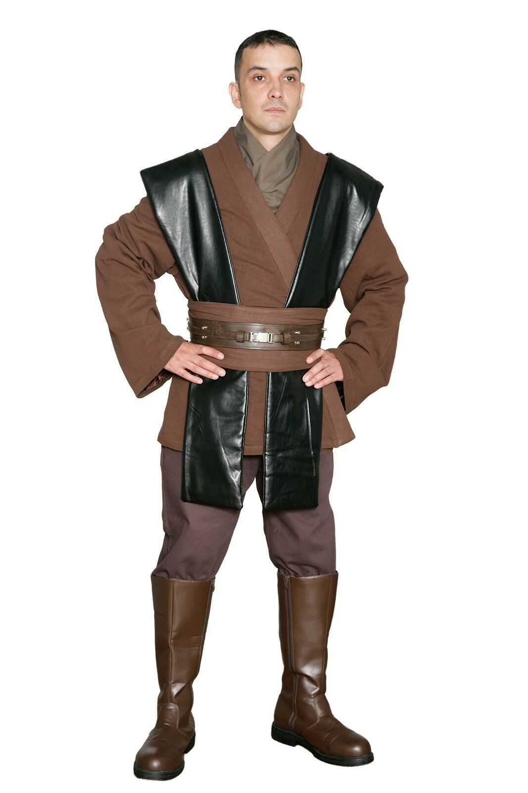 star wars anakin skywalker jedi costume quality replica. Black Bedroom Furniture Sets. Home Design Ideas