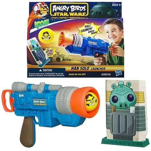 Star Wars Angry Birds Koosh Han Solo Blaster in Collectibles, Science Fiction & Horror, Star Wars | eBay