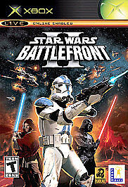 Star Wars Battlefront II  (Xbox, 2005)