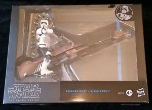 Star-Wars-Black-Series-6-SPEEDER-BIKE-and-SPEEDER-SCOUT-Hasbro-NEU-OVP