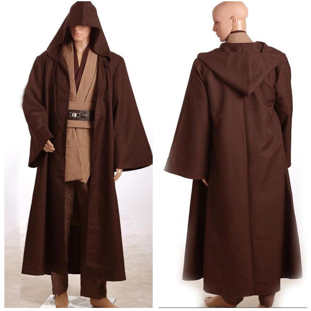 Standardgröße Sonderangebot S-3XL Cosplay Star Wars Obi-Wan Kenobi Jedi Ver