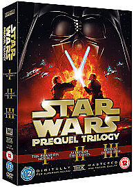 Star Wars - Prequel Trilogy (DVD, 2008, ...
