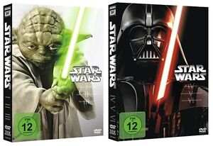 Star-Wars-The-Complete-Saga-I-VI-1-2-3-4-5-6-NEU-OVP-DVD-Box-Set