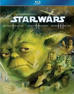 Star Wars Trilogy: Episodes I-III (Blu-r...
