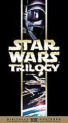 Star Wars Trilogy (VHS, 2000, Spanish Sp...