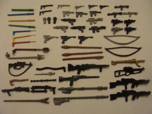 Star Wars Weapons For Vintage Figures in Toys & Hobbies, Action Figures, TV, Movie & Video Games | eBay