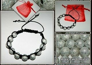 Beads Friendship Bracelet Jewellery Making Kit Instructions