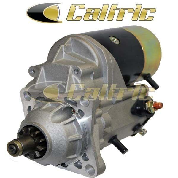Starter Clark Skid Steer Loaders 753 763 773 Kubota Diesel V1702 V2203E Engines