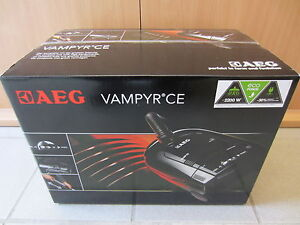 staubsauger aeg vampyr ce 2000 el nagelneu schwarz 2200 watt ebay. Black Bedroom Furniture Sets. Home Design Ideas