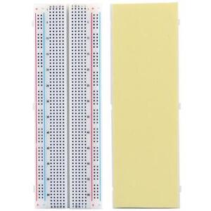 Steckbrett-Breadboard-Experimentierboard-Steckplatine-830-Kontakte
