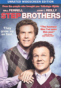 Step Brothers (DVD, 2008, Unrated Single...