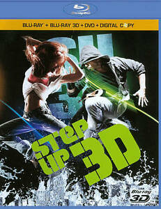Step Up 3 (Blu-ray/DVD, 2010, 3-Disc Set...