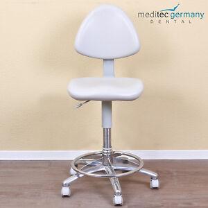 sternweber anthos arbeitsstuhl hocker behandlersessel mit grauem polster top ebay. Black Bedroom Furniture Sets. Home Design Ideas