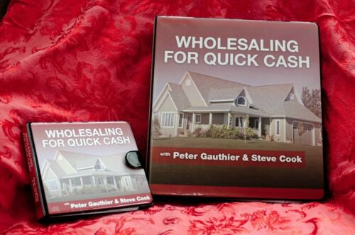 Steve Cook - Wholesaling for Quick Cash in Everything Else, Career Development & Education, Real Estate | eBay