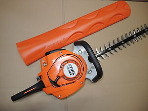stihl hs 46 c e benzin heckenschere mit 550mm messer ergostart ebay. Black Bedroom Furniture Sets. Home Design Ideas