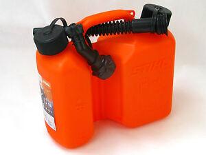 stihl kombi kanister 3 1 5 liter orange 0000 881 0124 ebay. Black Bedroom Furniture Sets. Home Design Ideas