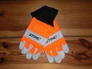 Stihl-Schnittschutzhandschuhe-ECONOMY-beidseitig-S-M-L-XL-Forsthandschuhe